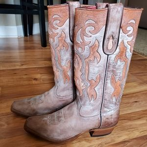 Shoes - Beautiful Genuine leather western boots
